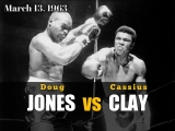 Кассиус Клей vs Даг Джонс (Cassius Clay vs Doug Jones) (Muhammad Ali vs Doug Jones) 13.03.1963