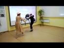 пантомима театральной студии РампаСлавыневского СДК рук.Лидия Вещагина исполняют Екатерина и Аминяа Рябовы