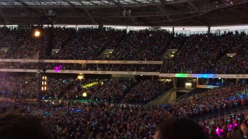 Coldplay 70.000 посетителей