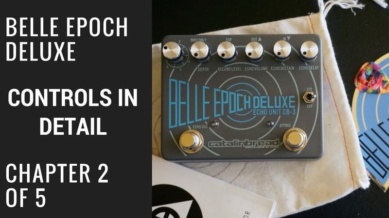 Belle Epoch Deluxe: Out of The Box 2 of 5 Controls In Detail