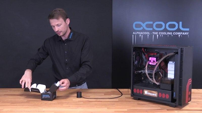 Herstellervideo: Alphacool Powerbutton. Ein externer Startknopf einfacher starten kann man nicht