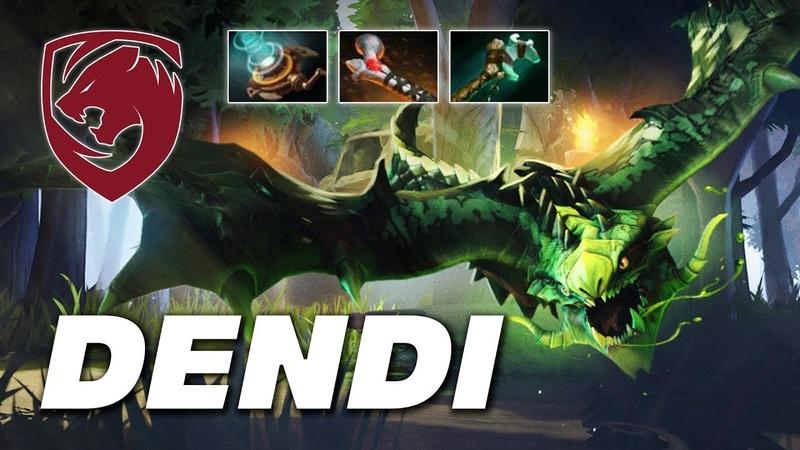 Dendi Viper Toxic Dragon | Dota 2 Pro Gameplay