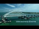 Крымский мост за час до открытия