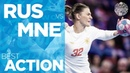 Boom, boom, Bulatovic scores for Montenegro | Women's EHF EURO 2018