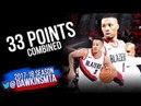 Damian Lillard CJ McCollum 39 Pts WCR1 Game 2 Pelicans vs Portland Trail Blazers | FreeDawkins