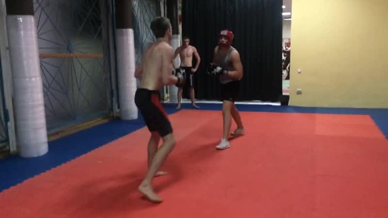 Тренировочные будни. Алексей и Илья
