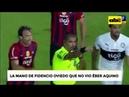 La mano de Fidencio Oviedo que no vio Éber Aquino (@ABCTVpy)