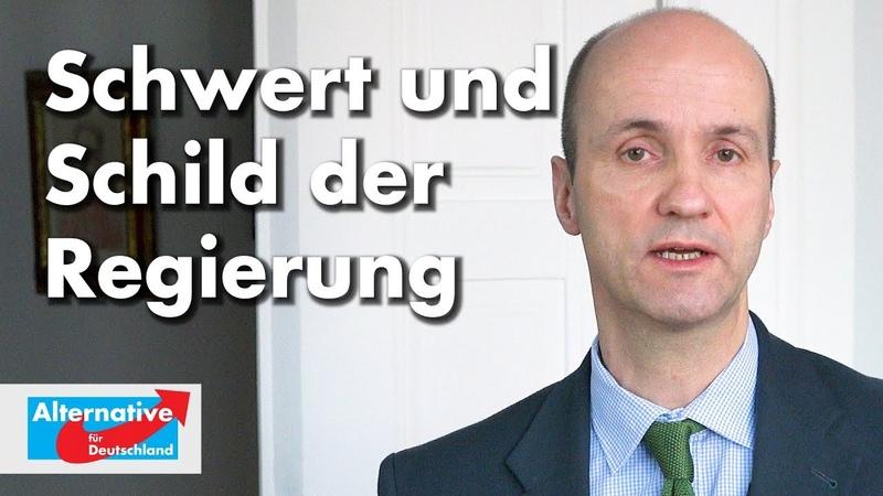 Nicolaus Fest zum Verfassungsschutz als Schwert und Schild der Regierung