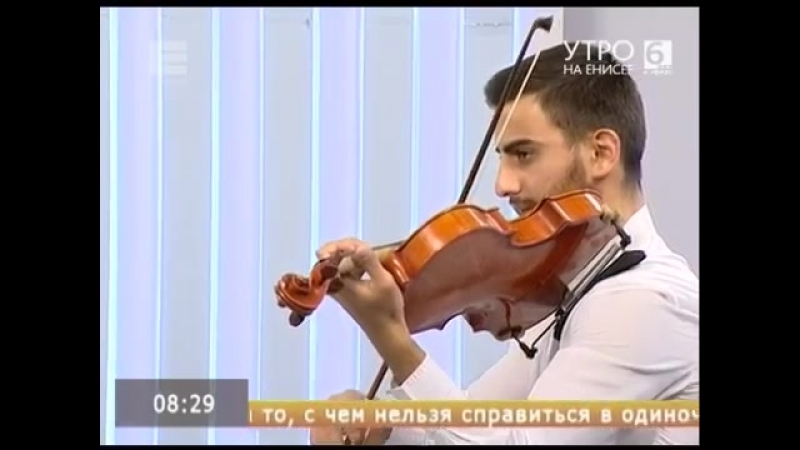 Анонс на телеканале Енисей