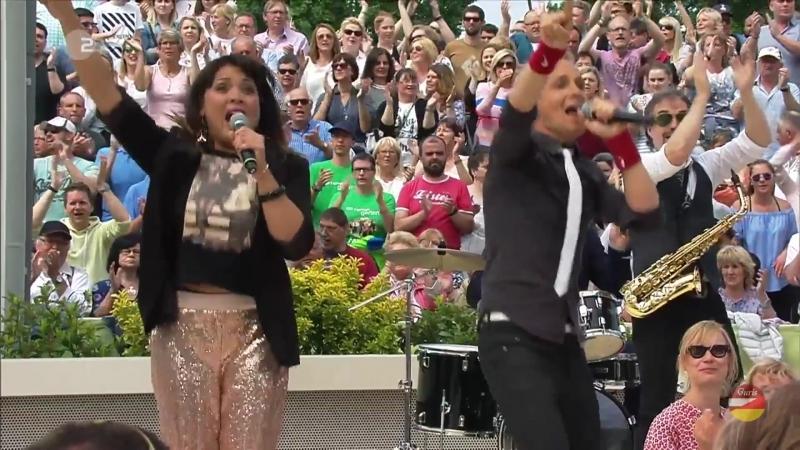Hermes House Band «Hit-Medley» ZDF-Fernsehgarten 13.05.2018