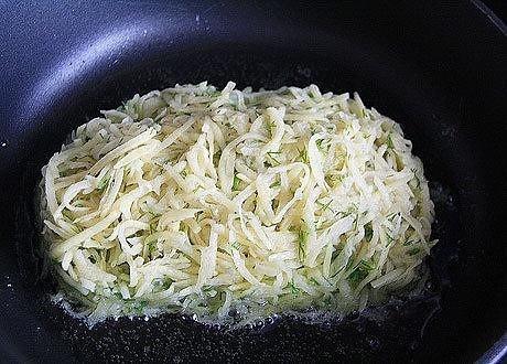 Куриная грудка в картофельной шубке
