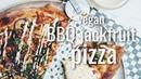 VEGAN BBQ JACKFRUIT PIZZA ( MPGIS DEANDRATHENEWGIRL COLLAB ) | hot for food