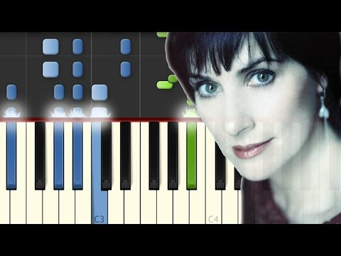 Enya / Only Time / Piano Tutorial / Synthesia / Midi Notas