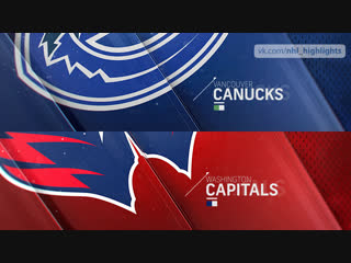 Vancouver Canucks vs Washington Capitals Feb 5, 2019 HIGHLIGHTS HD