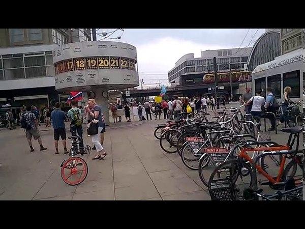 Alexanderplatz и пикет в поддержку России