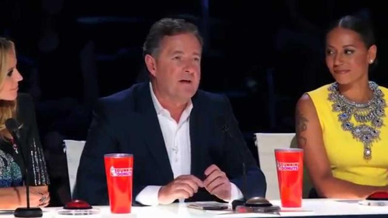 America's Got Talent 2015 - Siro A Piers Morgan Hits Golden Buzzer for a Creative Dance Group