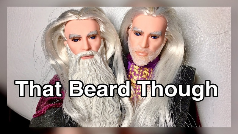 FACE OFF! A new beard for Albus Dumbledore?! Harry Potter doll gets rid of his long plastic beard!