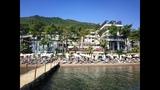 SENTIDO ORKA LOTUS BEACH 5HV1. Обзор пляжа отеля. Турция, Мармарис, Ичмелер. Эгейский регион.