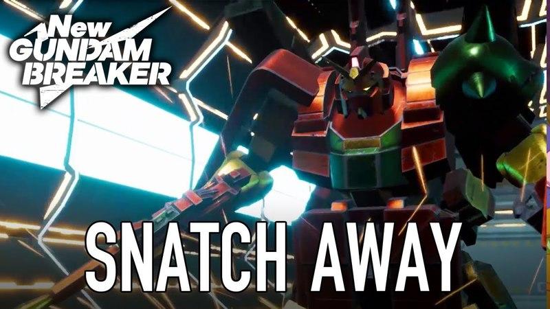 New Gundam Breaker - PS4/PC - Snatchaway (Teaser Trailer)