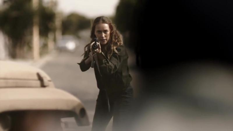 Hot badass alicia clark scenes [season 1-4a]