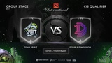 Team Spirit vs Double Dimension, The International CIS QL Jam, Eiritel