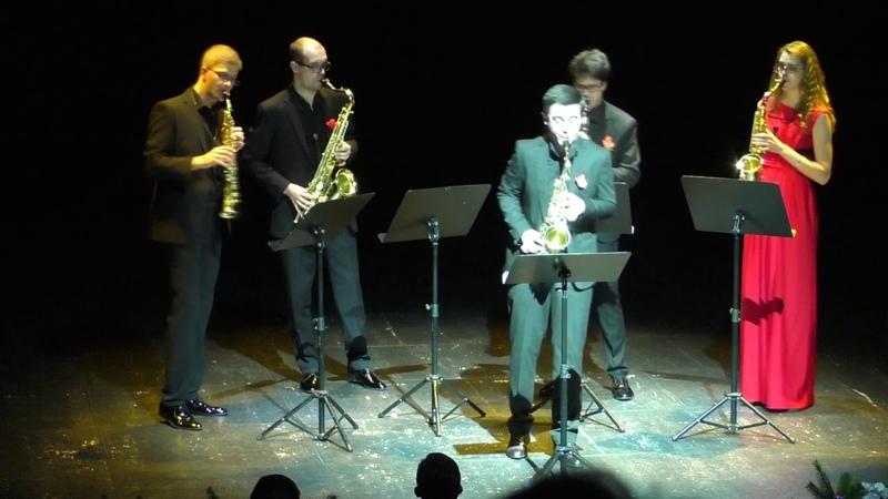 Ad Libitum Saxophone Quartet 4 airs autour du tango