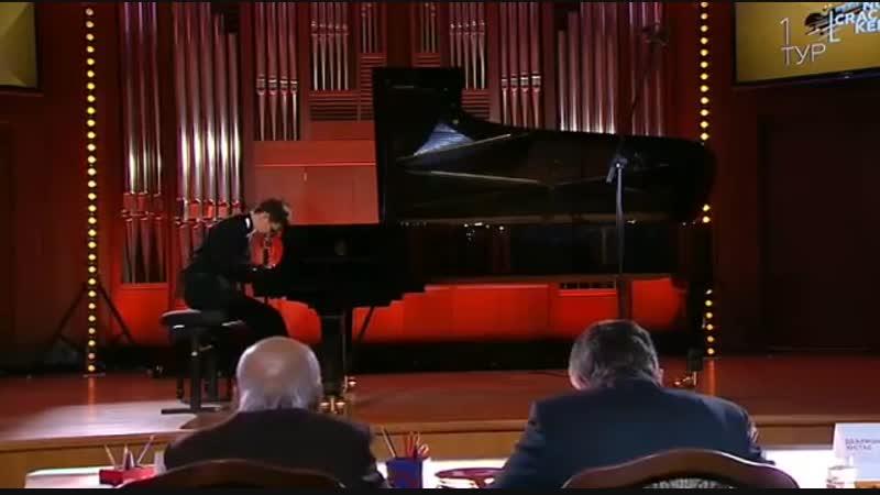 Егор Опарин, конкурс Щелкунчик-2018. Бах. Сарабанда и Жига из Английской сюиты ля минор