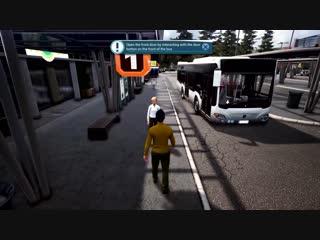 Bus Simulator - Gameplay ¦ PlayStation Underground