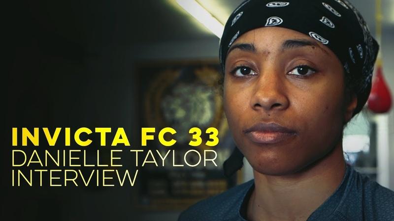 Invicta FC 33: Danielle Taylor Interview