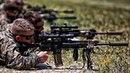 U.S. Marines Shoot The M38 Designated Marksman Rifle