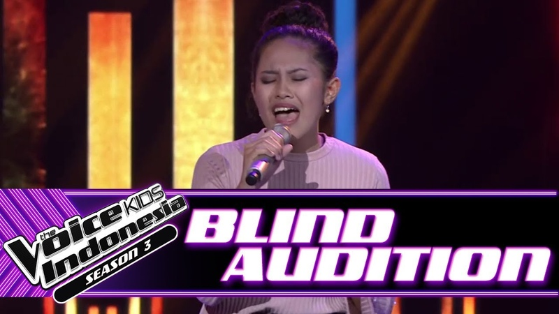 Jelita Run To You Blind Auditions The Voice Kids Indonesia Season 3 GTV 2018