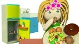 Kinder Cartoon - Puppenhaus - Bianca r