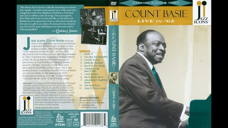 Jazz Icons Count Basie Live In 1962 2006