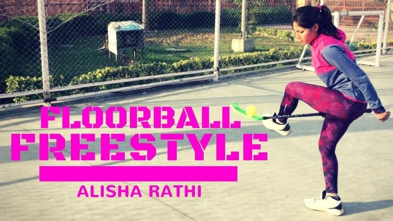 Best Floorball Freestyle Zorro Female | Sangeeta Rathi | Alisha NFitness
