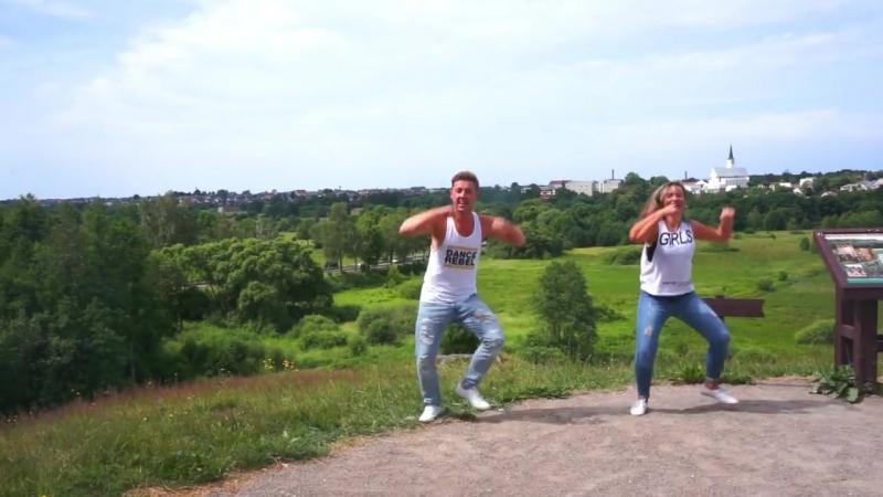 ЛОВИМ СВЕЖЕНЬКОЕ ЛЕТНЕЕ ВИДЕО!Zumba fitness - Becky G Ft. Natti Natasha - Sin Pijama