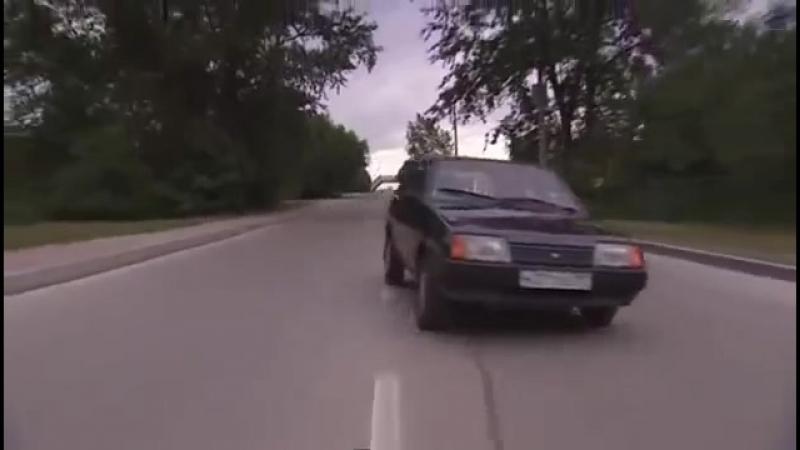 Встречная полоса 2008 3 серия car chase scene