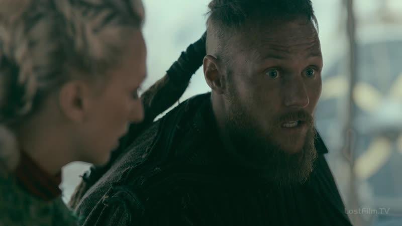 Vikings.S05E18.1080p - фрагменты щит и дипломатия