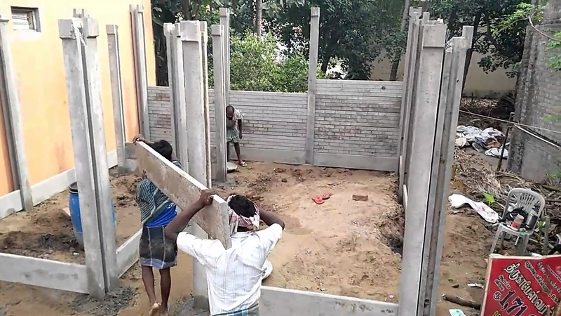 Pondy PreCast Housing Call 7094722001' Cement Pipe and House Chennai compound wal