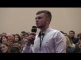 Александр Бурков на аграрном форуме пообщался со студентами ОмГАУ