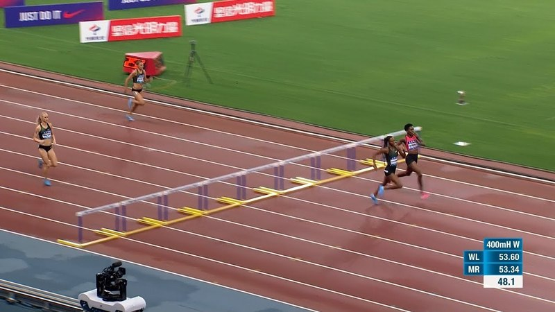 Women's 400m Hurdles - Shanghai Diamond League 2018 [1080p 50fps]