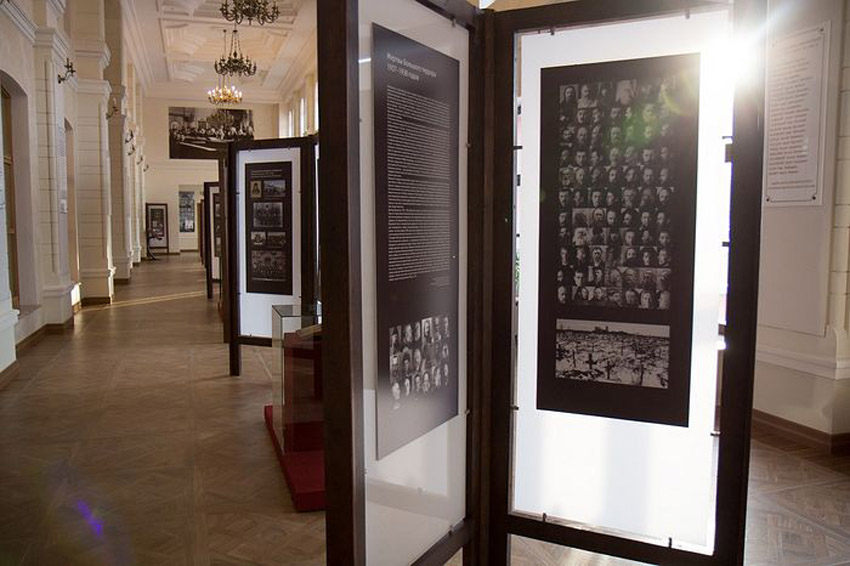 Школьные учителя из Ховрина посетили Музей памяти новомучеников и исповедников российских