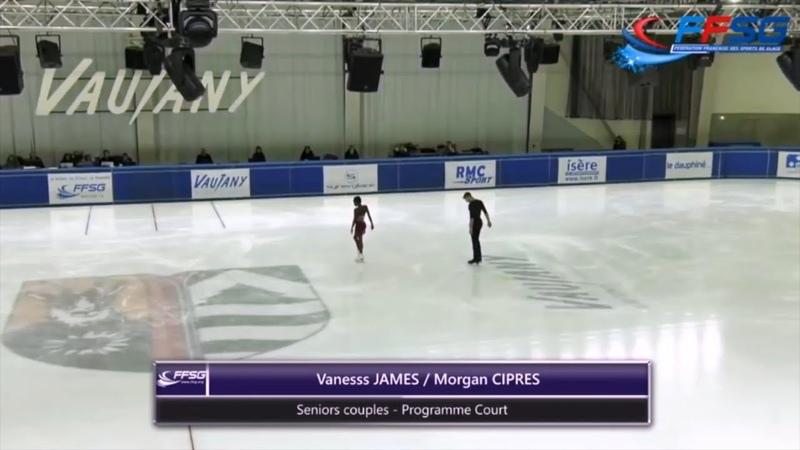 Джеймс/Сипре, Чемпионат Франции 2018