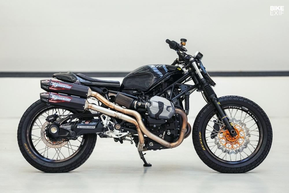 Gunn Design: флэт-трекер BMW R nineT