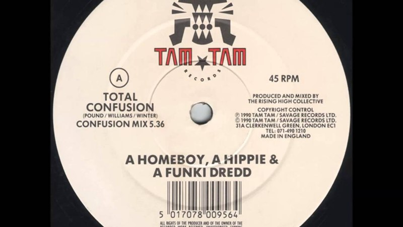 (HHFD) A Homeboy, A Hippie A Funki Dredd - Total Confusion (Confusion Mix)