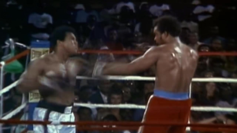 Muhammad Ali vs George Foreman 1974 'Tomorrow' Sauf