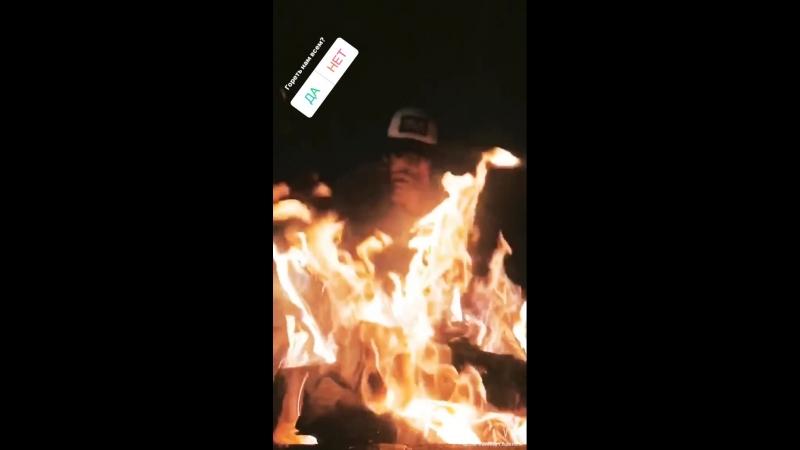 Dmitry Koldun fire