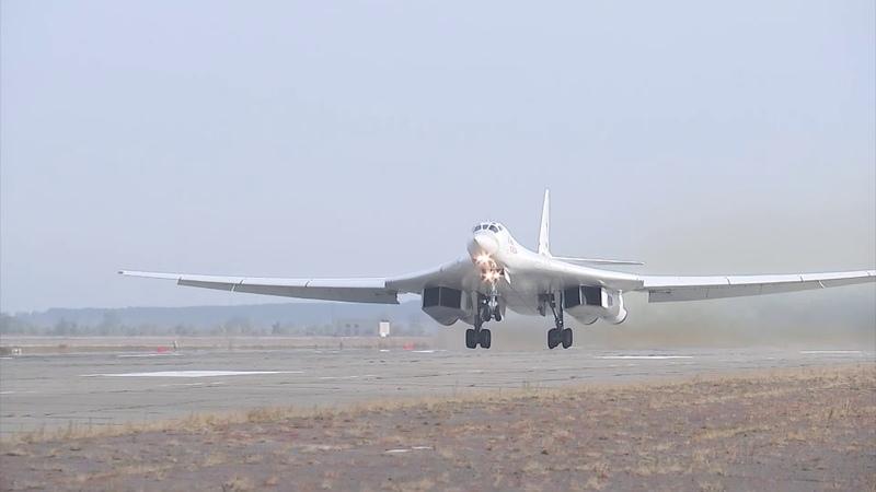 Учение стратегических ядерных сил - Ту-160