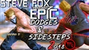 This is TEKKEN 7 : STEVE FOX 2018 - Epic Dodges Sidesteps Compilation 2! 🥊