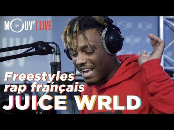 Juice WRLD freestyle sur du Niska, NTM, 113, Dadju, Ninho... freestyles on french rap songs