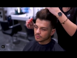 Soft fade x Messy Fringe Tutorial _ Mens Hairstyles